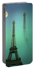Eiffel Tower Portable Battery Charger by Joyce Dickens