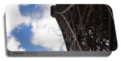 Portable Battery Charger featuring the photograph Eiffel Tower by Tiffany Erdman