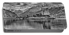 Eilean Donan - A Reflection Without Colour Portable Battery Charger