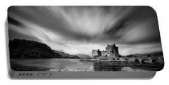 Eilean Donan Castle 1 Portable Battery Charger by Dave Bowman