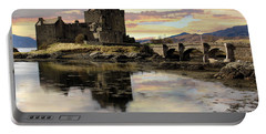 Eilean Donan Castle Scotland Portable Battery Charger by Jacqi Elmslie