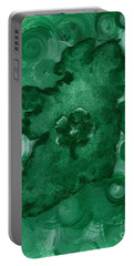 Eire Heart Of Ireland Portable Battery Charger by Alys Caviness-Gober