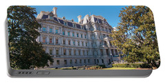 Eisenhower Executive Office Building In Washington Dc Portable Battery Charger
