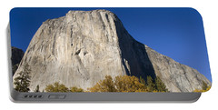 Portable Battery Charger featuring the photograph El Capitan In Yosemite National Park by David Millenheft
