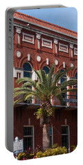 El Centro Espanol De Tampa Portable Battery Charger by Paul Rebmann