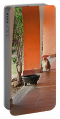 Portable Battery Charger featuring the photograph El Gato by Marcia Socolik