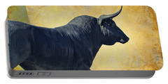 El Toro  Portable Battery Charger by Mary Machare