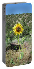 Elated Sunflower Portable Battery Charger