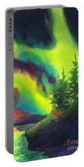 Electric Green In The Sky 2 Portable Battery Charger