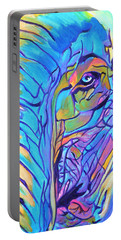 Elephant - Sky Blue Portable Battery Charger