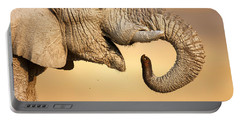 Elephant Drinking Portable Battery Charger