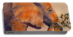 Elephant Eating Portable Battery Charger