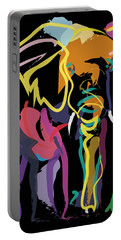Elephant In Colour Portable Battery Charger