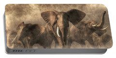 Elephant Stampede Portable Battery Charger