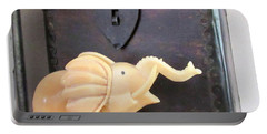 Elephant With Elephant Box Portable Battery Charger