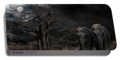 Elephants Of The Serengeti Portable Battery Charger