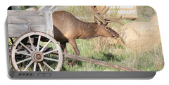 Elk Drawn Carriage Portable Battery Charger