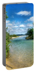 Elk River- Elk Rapids Michigan Portable Battery Charger