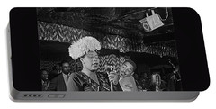 Ella Fitzgerald And Dizzy Gillespie William Gottleib Photo Unknown Location September 1947-2014. Portable Battery Charger