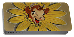 Elsie The Borden Cow  Portable Battery Charger