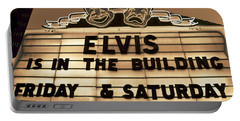 Elvis Is In Portable Battery Charger by David Lee Thompson