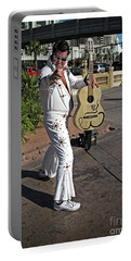 Elvis Presley Portable Battery Charger by Edward Fielding
