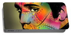 Elvis Presley Portable Battery Charger by Mark Ashkenazi