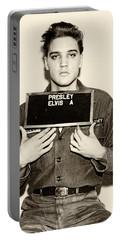 Elvis Presley - Mugshot Portable Battery Charger