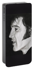 Elvis Presley  The King Portable Battery Charger