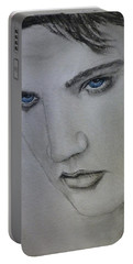 Elvis's Blue Eyes Portable Battery Charger