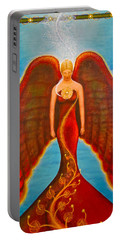 Emeliah Angel Of Inner Journeys Portable Battery Charger