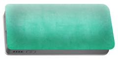 Emerald Bay Portable Battery Charger by Linda Woods