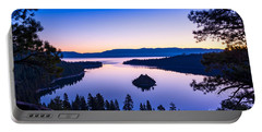 Emerald Bay Sunrise Portable Battery Charger