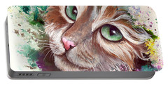 Emerald Eyes Portable Battery Charger