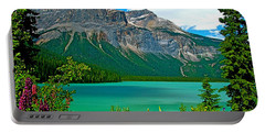 Emerald Lake In Yoho Np-bc Portable Battery Charger