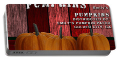 Emilys Pumpkin Patch Portable Battery Charger