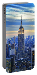 Empire State Building New York City Usa Portable Battery Charger