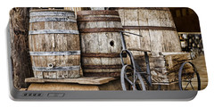 Emptied Barrels Portable Battery Charger by Heather Applegate