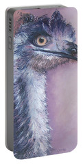 Emu By Jan Matson Portable Battery Charger by Jan Matson