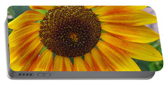 End Of Summer Sunflower Portable Battery Charger