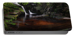 Portable Battery Charger featuring the photograph Enders Falls Spring by Bill Wakeley