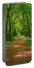 Endless Trail Into The Forest Portable Battery Charger