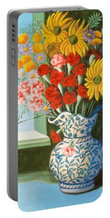 English Bouquet Portable Battery Charger
