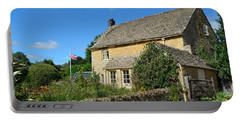 English Cottage With Garden Portable Battery Charger by IPics Photography