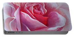 English Rose Portable Battery Charger by Sandra Phryce-Jones