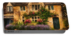 English Stone Cottage Portable Battery Charger