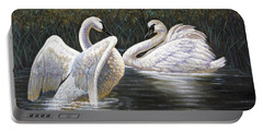 Enjoying The Trumpeter Swans Portable Battery Charger