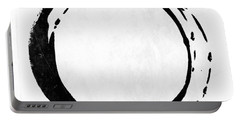 Enso No. 107 Black On White Portable Battery Charger