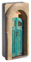 Portable Battery Charger featuring the photograph Enter Turquoise by Barbara Chichester