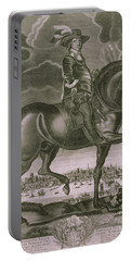 Equestrian Portrait Of Oliver Cromwell  Portable Battery Charger